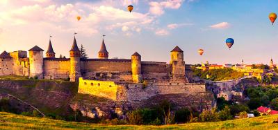 Festiwal balonowy w Kamenec-Podolskim + Hotin i Bakota!