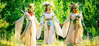 Ślub Słońca i Wody. Ivan Kupala
