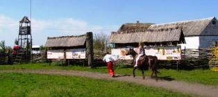 Майские на казачьем хуторе. Днепр - Галушковка