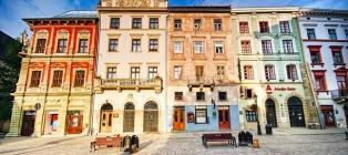 Medieval date. Weekend in Lviv