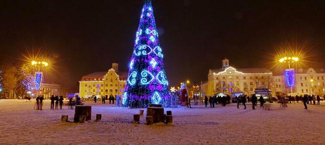 Christmas box. Kiev - Kozelec - Chernigov - Baturin - Nizhin