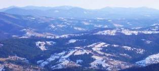 Snow carols. Carpathians from Lviv