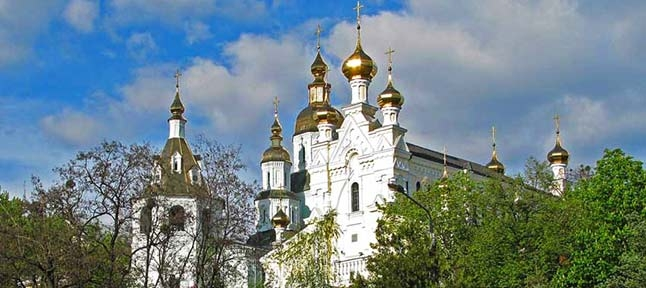 Domes of Kharkov. Orthodox churches