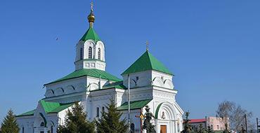 1200px Радомишль. Миколаївський собор. Тисяча вісімсот шістьдесят чотири 1864 рр. Історізм