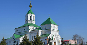 1200px Radomishl. Mikola Cathedral 1864 83 pp. Historicism