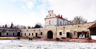 Внутрішній двір Збаразький замок
