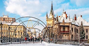 kosice winter slovakia
