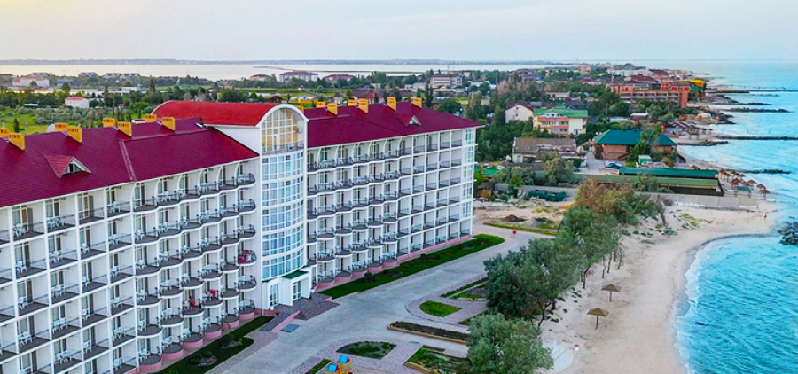 Berdyansk. Hotel & quot; Panorama Family Hotel & quot;