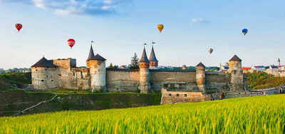 Autumn Balloon Festival in Kamyanets-Podolsk + Khotin and Bakota!