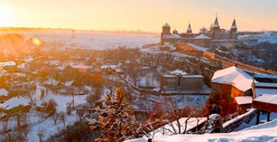 Christmas Bukovina. Chernivtsi - Kamyanets-Podilsky