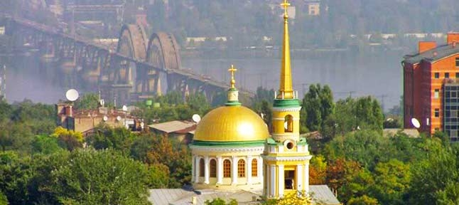 Above the Dnieper and Samara. Temples of Sicheslavschina