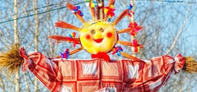 All over the Kolodyya! Carnival in Skovorodinovka