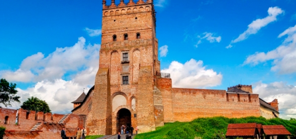 Lubart's castle in Lutsk