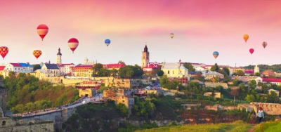 Balloon Festival in Kamenetz-Podolsky + Hotin, Chernivtsi and Bakota!