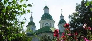 Kapliczka Mgar. Lubny - Reshetilovka - Chernukhi