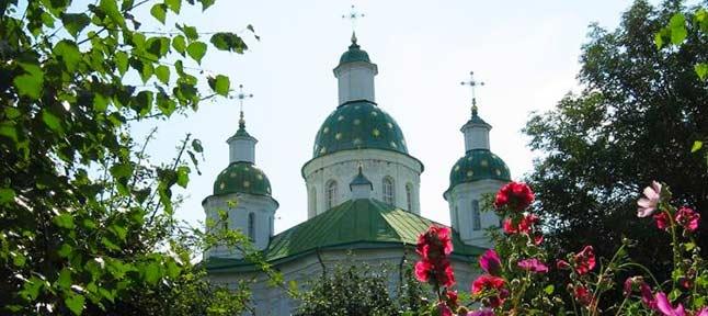 Mgar shrine. Lubny - Reshetilovka - Chernukhi