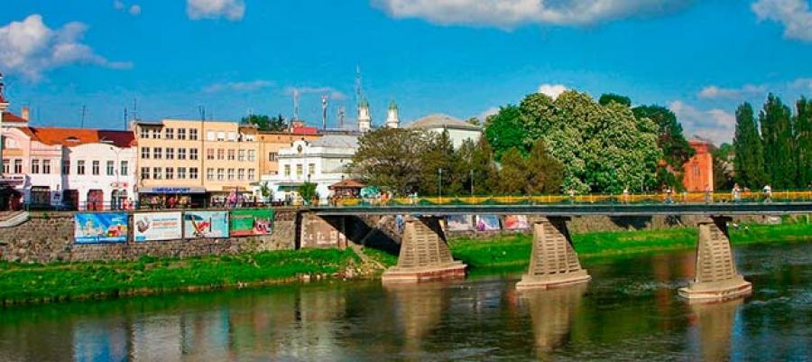Гірлянди Закарпаття. Мукачево - Ужгород - Берегово