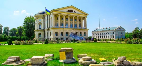 Razumovsky Palace in Baturyn
