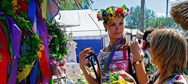 Sorochinsky Fair. Oposhnya - Sorochintsy. Closing