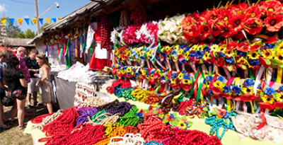 Sorochinsky Fair. Oposhnya - Sorochintsy. The height