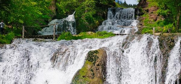 Dzhurinsky (Chervonogradsky) waterfall