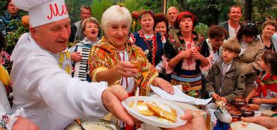 Фестиваль дерунів у Коростені + Київ вечірній!