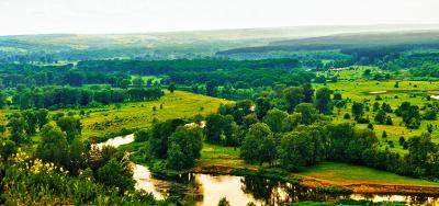 Wzdłuż Seversky Donets. Charków - Rodzynki - Słowiańsk - Svyatogorsk - Sołedar - Bachmut