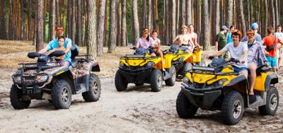 ATV ride in Kharkov!