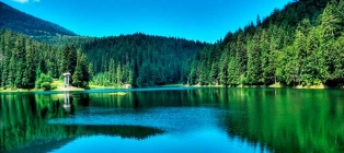 Water world of the Silver Earth. Transcarpathia + SPA