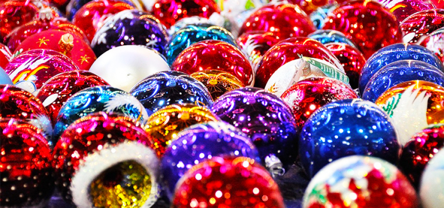 Glass fantasy. Kupyanka Christmas tree decorations factory