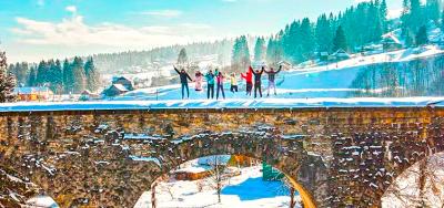 MEGA-wycieczka do Karpat na Boże Narodzenie!