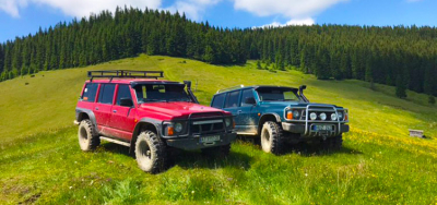 Extreme in the Carpathians. Hoverla + jeeps + rafting!