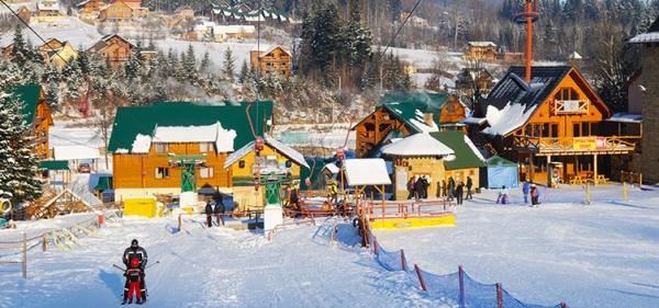 Mountain-skiing complex Migovo