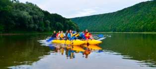 Zori of the Dniester. West Podolie + rafting on the Dniester River