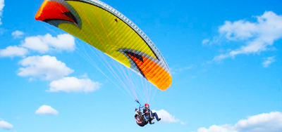 Paragliding in Kharkov