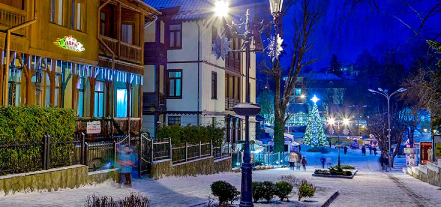 MEGA-tour to Truskavets for Christmas! 7 days of rest in the Carpathian region