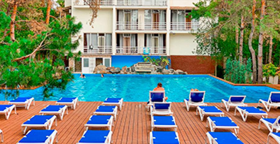 """Koblevo. Hotel """"Valen Park"""""""