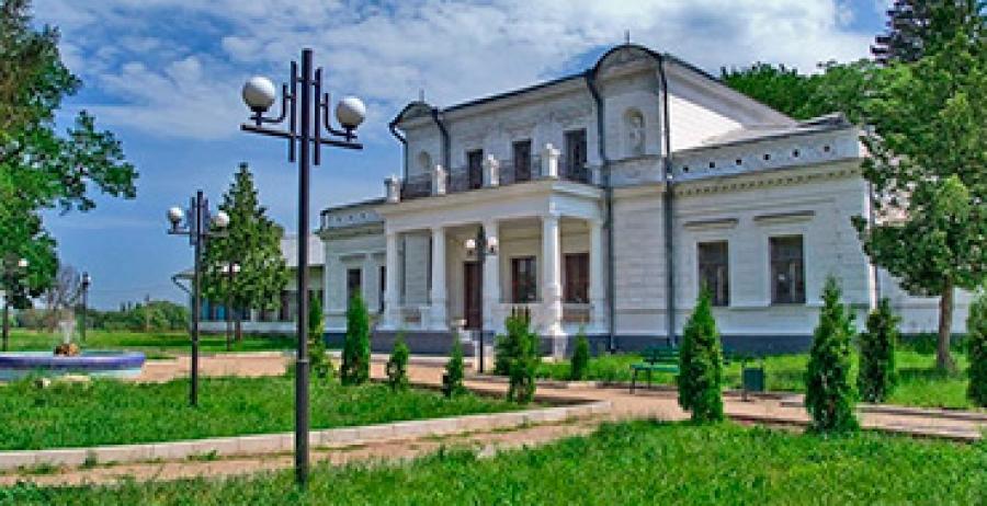 In the former Kharkiv province. Akhtyrka - Trostyanets