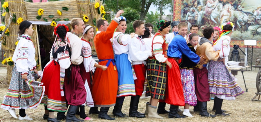 "Folklore Music Festival ""Wedding in Malinovka + & quot;"