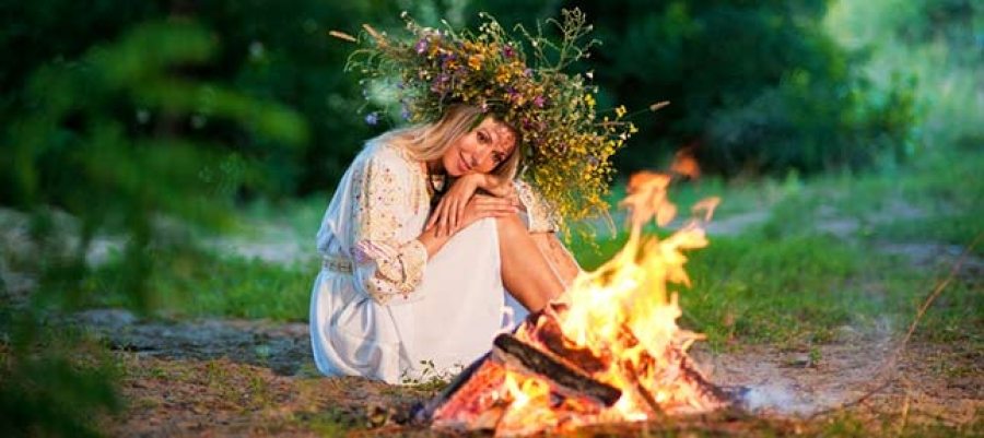 Today Ivan, and tomorrow Kupala. Festival of water and fire in Skovorodinovka