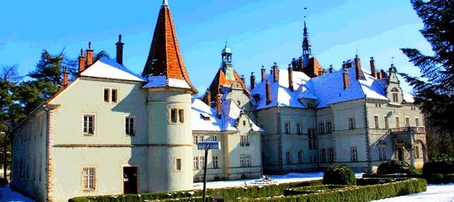 Fairy tale. Winter Transcarpathia