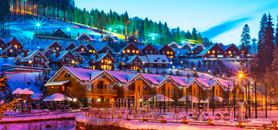 A week in Bukovel! Ski tour