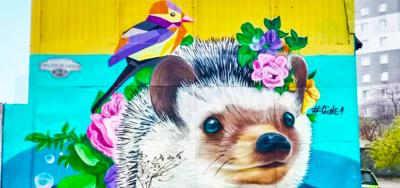 Let's paint the city! Street art of Kharkov
