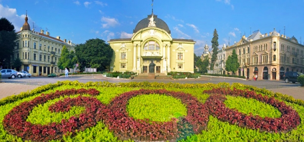 Drama Theater. O. Kobylianskaya in Chernivtsi