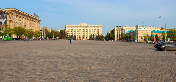 Freedom Square. Kharkiv