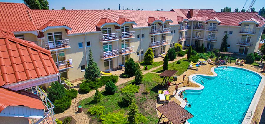 """Koblevo from Kharkov. Hotel """"Dolphin"""""""