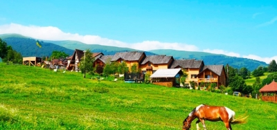 Carpathian adagio. Eco - resort Izki