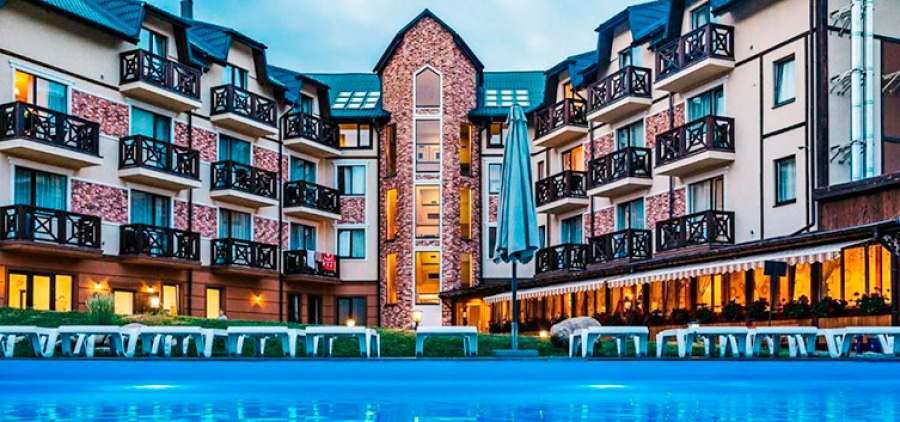 "Rest and relaxation in the Carpathians on March 8! Hotel ""Premium Club"", Yaremche"