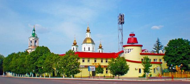 city of Akhtyrka
