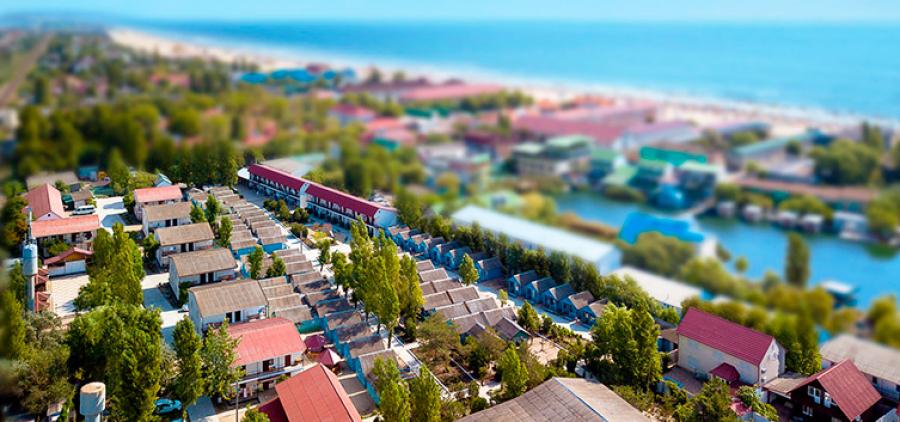 Napływ z Charkowa. Family Hotel Zarya